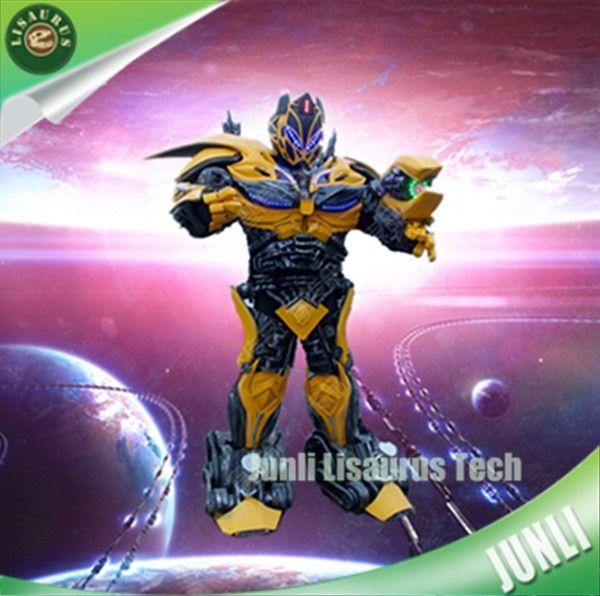 Lifesize Lisaurus-L7 led Automotriz heroman Robótica robot amarillo traje-en Otros artículos de parques de atracciones de Parques de atracciones en m.spanish.alibaba.com.