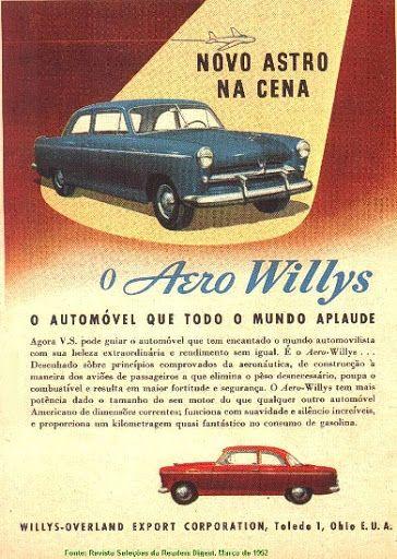 """O anúncio acima, do Aero Willys """"Bolinha"""", foi publicado na revista Seleções do Reader's Digest de março de 1962. Propaganda do tempo em que o consumidor era tratado de """"Vossa Senhoria"""" e se utilizava palavras como """"automovilista"""", """"fortitude"""" e """"increiveis"""". Bons tempos, hein!?!"""