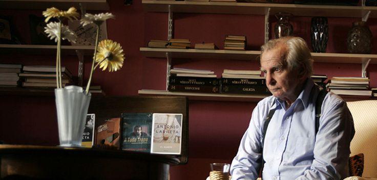 Fallece el escritor, crítico y actor uruguayo Antonio Larreta - http://www.actualidadliteratura.com/fallece-el-escritor-critico-y-actor-uruguayo-antonio-larreta/
