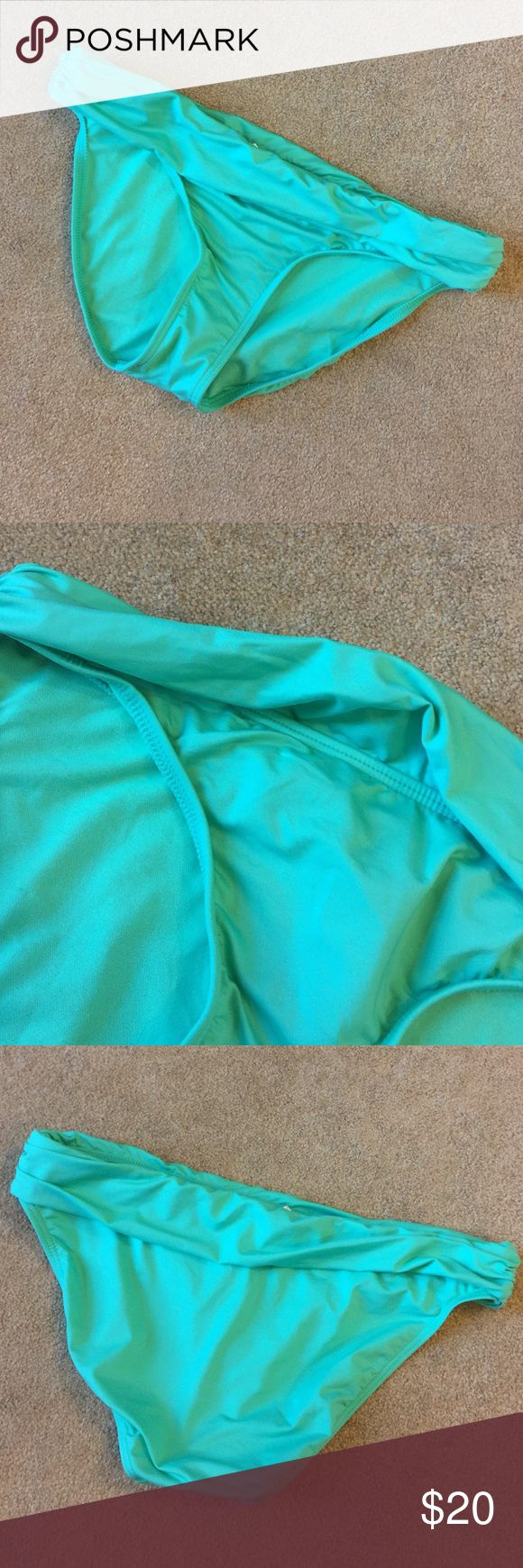 Mint Green Bikini Bottoms. Nwt Roll down waistband. Kenneth Cole Reaction Swim Bikinis
