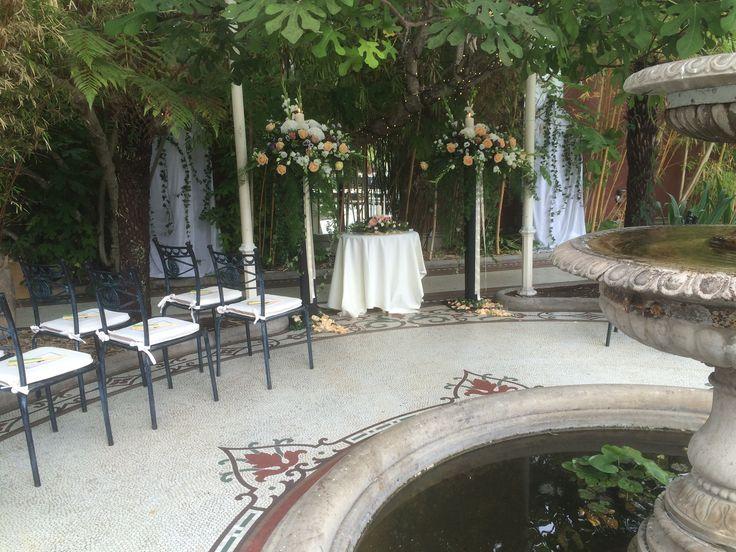 Outdoor Ceremony at Kilshane House