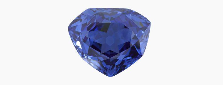 Nous allons maintenant parler d'un grand absent, un joyau dont il ne nous reste que le moulage en plomb retrouvé par Jean-Marc Fourcault et le minérologue François Farges dans les réserves du Muséum en 2007. Le chercheur identifie aussitôt ce plomb au Grand Diamant Bleu de Louis XIV, volé à la Révolution et que la rumeur associe au Hope, le célèbre diamant bleu exposé au Smithsonian de Washington. Cette découverte va permettre d'apporter la preuve de leur parenté, car un autre diamant bleu…