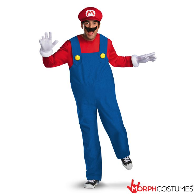 Mario Spandex Costume And Hat Super Mario Bros Cosplay Fancy Dress Halloween Video Game Gamer Brothers Overalls Plumber Adult Suit Outfit M5yvFfa