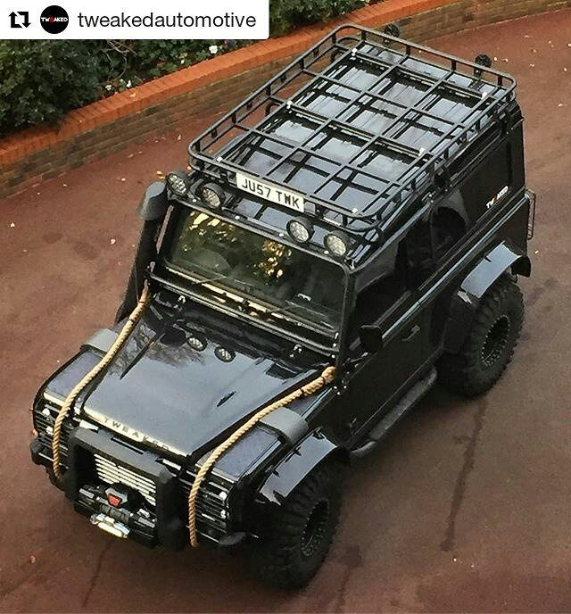 Land Rover Defender 110 Td4 customized to Espectre Edition m superb.