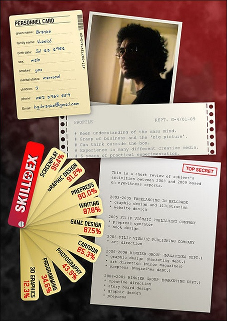 57 best Creative CVs images on Pinterest Creative cv, Creative - resume design samples