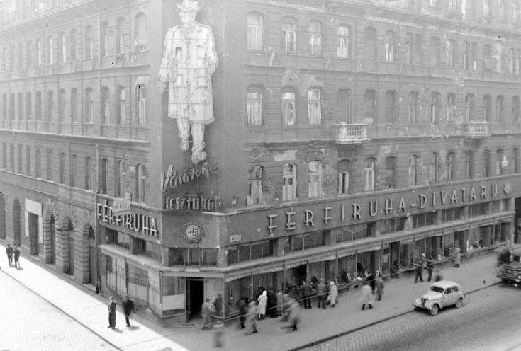 1958. Keleti Ruhaház a Rákóczi úton