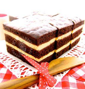 steam chocolate cream cheese layer cake 蒸巧克力奶油奶酪蛋糕