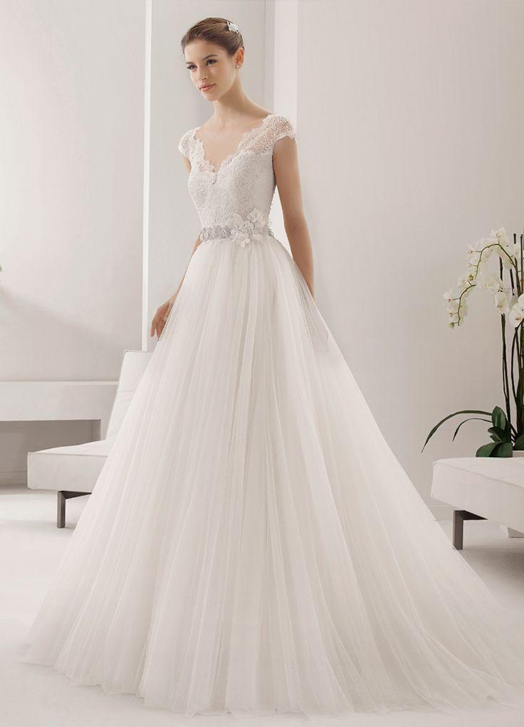 17 best images about wedding bridal dresses shoes for Alma novia wedding dress