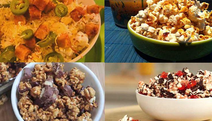 17 deliciosas y originales formas de comer palomitas de maíz