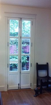 Skinny French Doors!