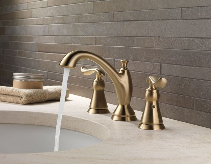 delta bathroom faucets champagne bronze - Google Search