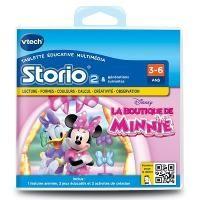 /** Priceshoppers.fr **/ Vtech Jeu pour console de jeux Storio 2 : La boutique de Minnie