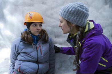 """Die Bergretter """"Gefangen im Eis"""". Danke an Jorgo, Marie, Luise, Tobias, Martin und das ganze Team für die tolle Drehzeit!"""