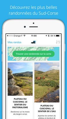 iScarpi : les plus belles randonnées du Sud de la Corse dans l'App Store