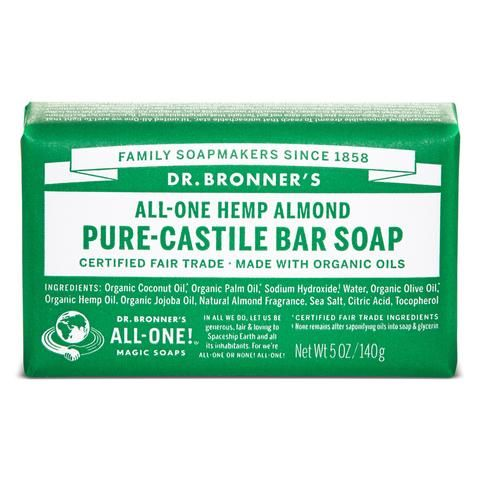 Dr Bronners - Almond Soap Bar