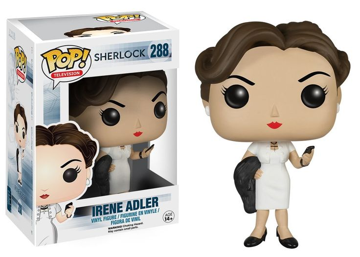 Pop! TV: Sherlock - Irene Adler