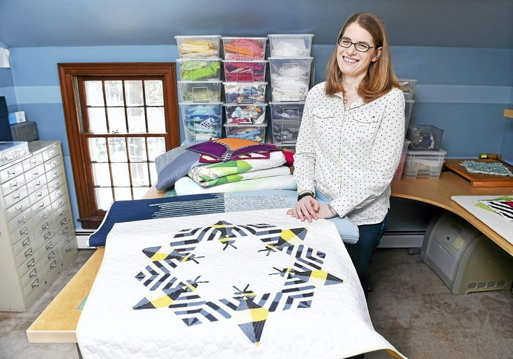 Woodbridge woman's award-winning quilts inspired by shapes, nature
