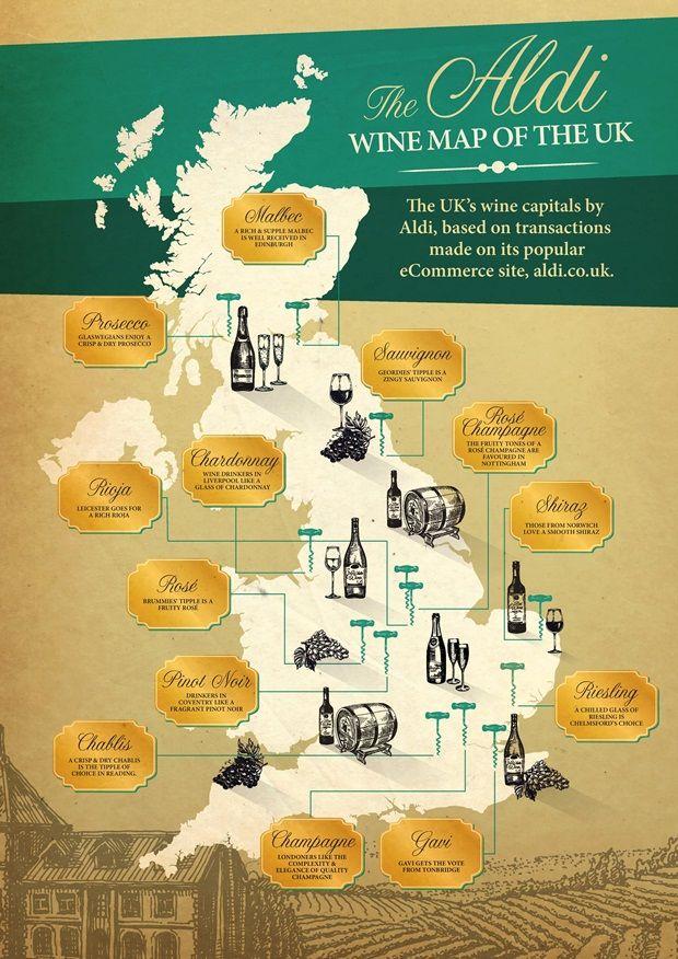 Aldi Wine Map