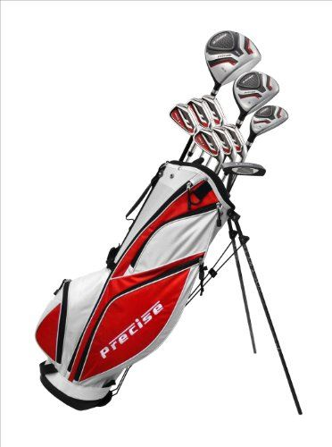 Left Handed Men's Complete Golf Club Set
