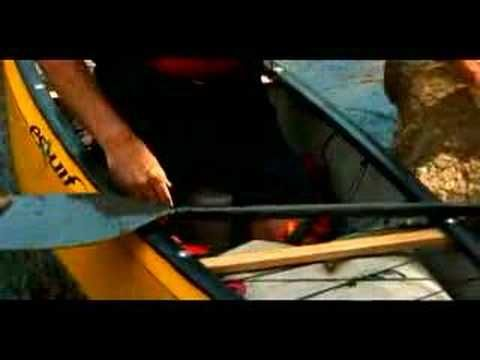 Whitewater Kayaking & Canoeing Safety Tips : How to Exit a Flipped Boat when Whitewater Canoeing