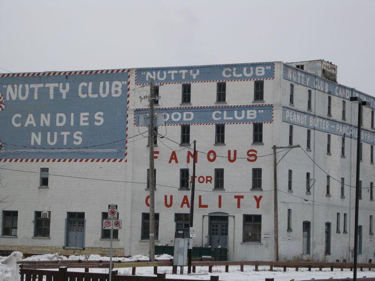 Nutty Club candy factory, Winnipeg