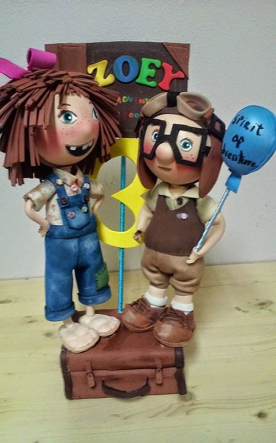 Ellie and Carl Cake Topper Ellie and Carl by SweetBellaLuna