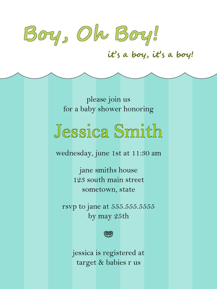 jungle theme baby shower invitation sayings%0A Free Baby Boy Shower Invitations