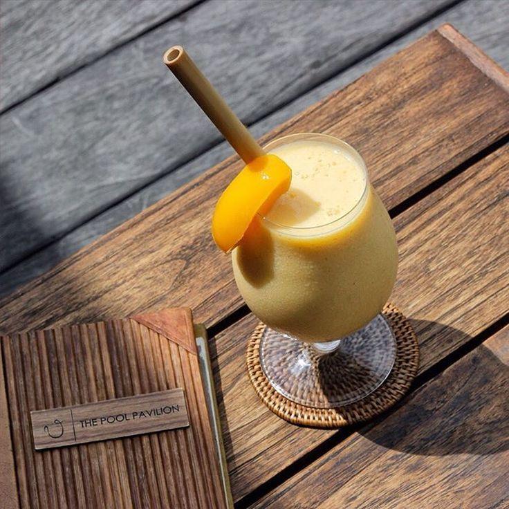 Our kind of Sunday: Tanning by the pool – Chill – Peaches and Honey. . Served with peach fruit, mango fruit, banana fruit, yoghurt, soya milk, honey. . . . . . #bismaeight #luxury #boutiquehotel #besthotel #bestresort #ubud #bali #traveling #travel #travelgram #mocktail #drinkpics #fruits #soya #ubudhotel #balihotel #ubudtrip #balitrip #traveling #travel #traveler #traveller #instatravel #instatraveling #igtravel #islandlife #travelgram #peaches #traveldestination #topdestinations