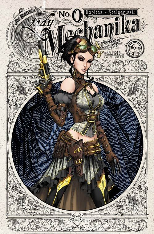 dumblydore:    Lady M by ~joebenitez on deviantART  I bought Lady Mechanika 0 yesterday; can't wait to sit down proper and read it.