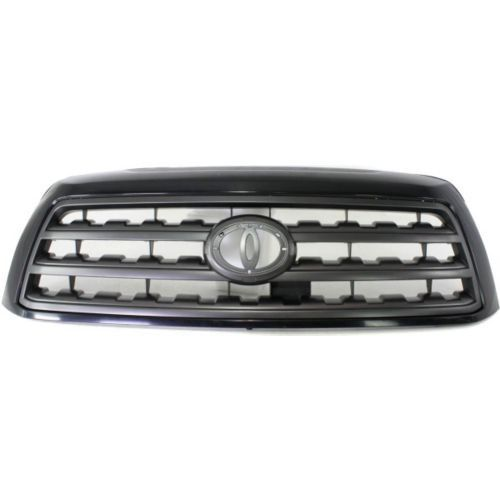 2008-2015 Toyota Sequoia Grille,Black Shell/gray Shell