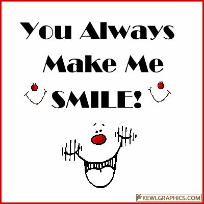 Top U Make Me Smile Quotes Gif
