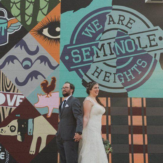 We Are Seminole Heights DIY Wedding