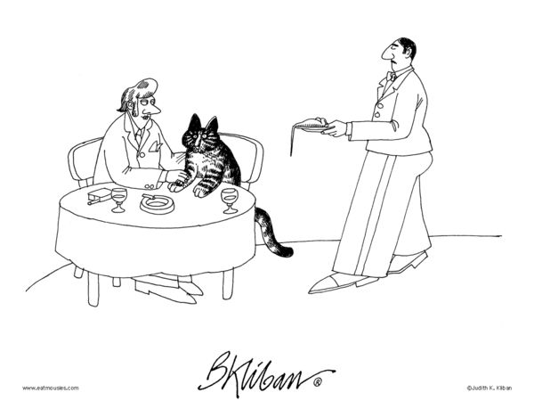 Klibans Cats Comic Strip March 11 2014 On GoComics