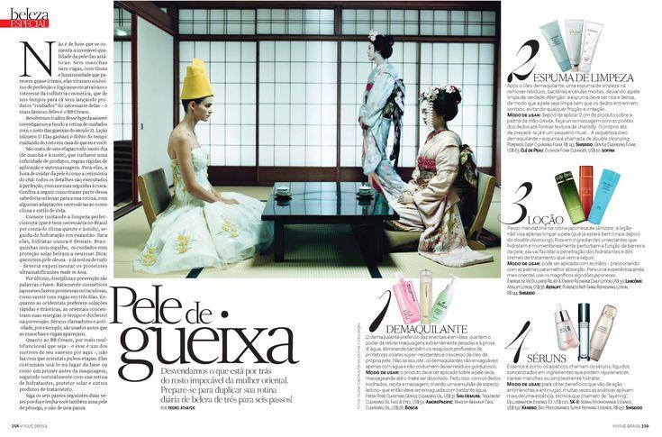 Dicas Asiáticas de como cuidar da pele