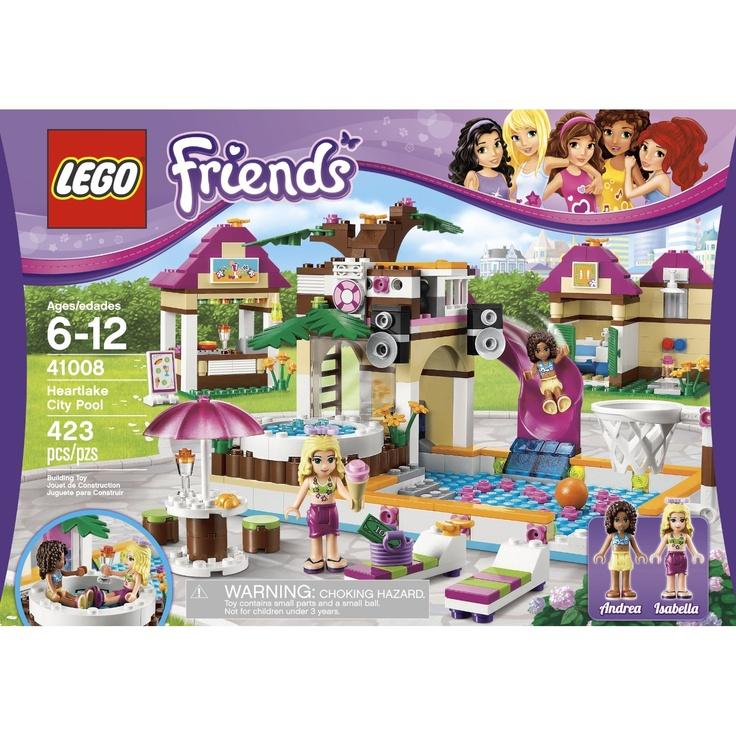 LEGO Friends Heartlake City Pool 41008 $35.08,#kid_game #kid_gift # ...