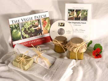 Give a DVD Movie & Picture Book - THE VEGIE PATCH - Support the lasting gift of a movie or book by adding these sensory gifts to support engagement and reminiscence for a person in care. Judi Parkinson Activities  http://sharetimepictures.com.au/GIFTS.php