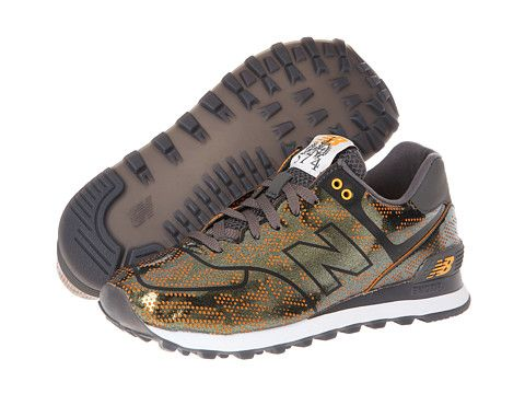 New Balance Classics Alpha 574 Tropical Fish Bronze, New Balance, Shoes,  Women