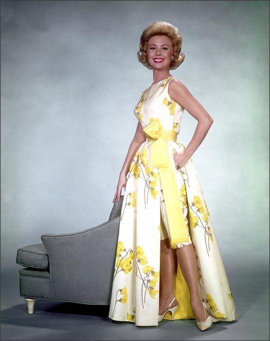 1950s hostess dress gown shorts