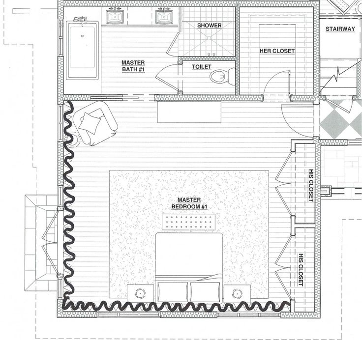 Beautiful Awesome Modern Master Suite Floor Plans With Master Bedroom Floor Plan  Ideas And Master Bathroom Also