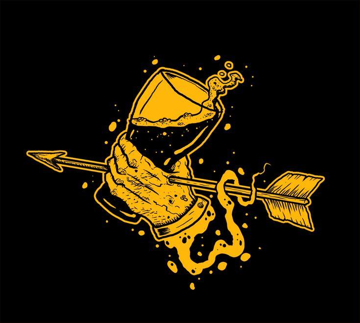 Tshirt design for Metal/Grindcore band Brazen bull.
