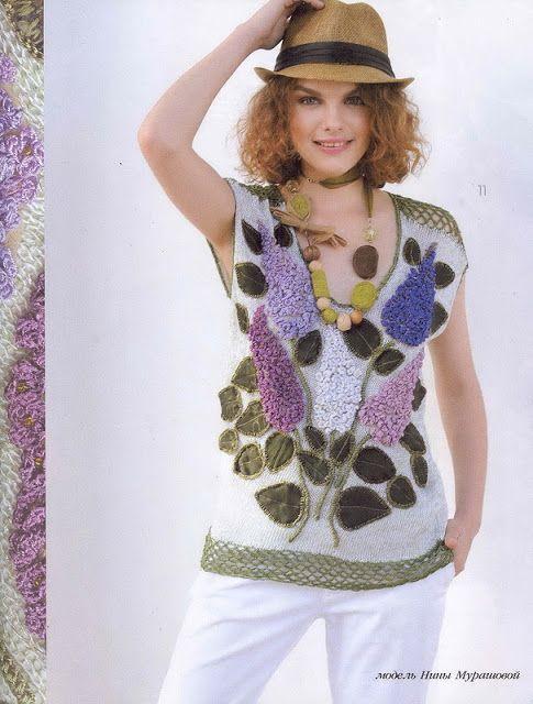 Irish crochet &: ZHURNAL MOD 589 ____ ЖУРНАЛ МОД 589
