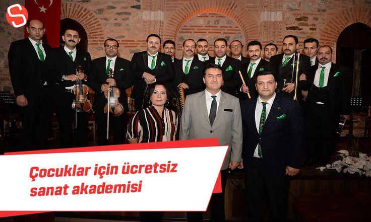 Bursa Osmangazi Belediyesi, çocuklar için ücretsiz olan Osmangazi Sanat Akademisi'ni kurdu.  #osmangazibelediyesi #sanatakademisi