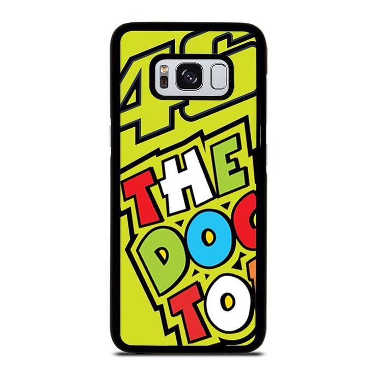 VALENTINO ROSSI VR46 THE DOCTOR Samsung Galaxy S4 S5 S6 S7 S8 S9 Edge Plus Note 3 4 5 8 Case Cover
