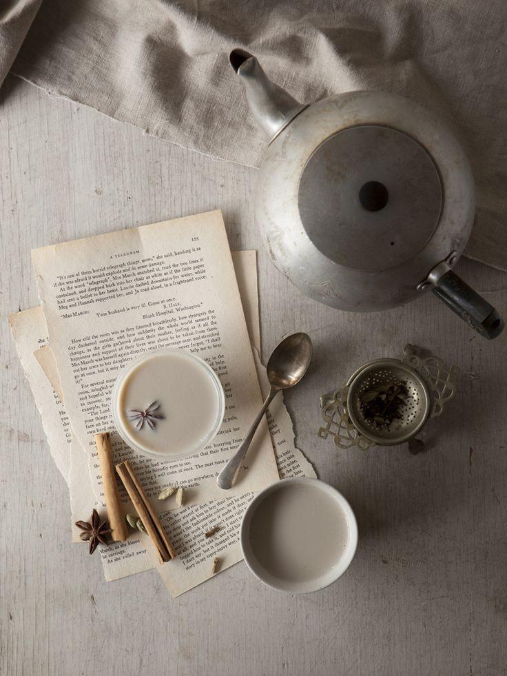 chai tea recipe - food photography blog