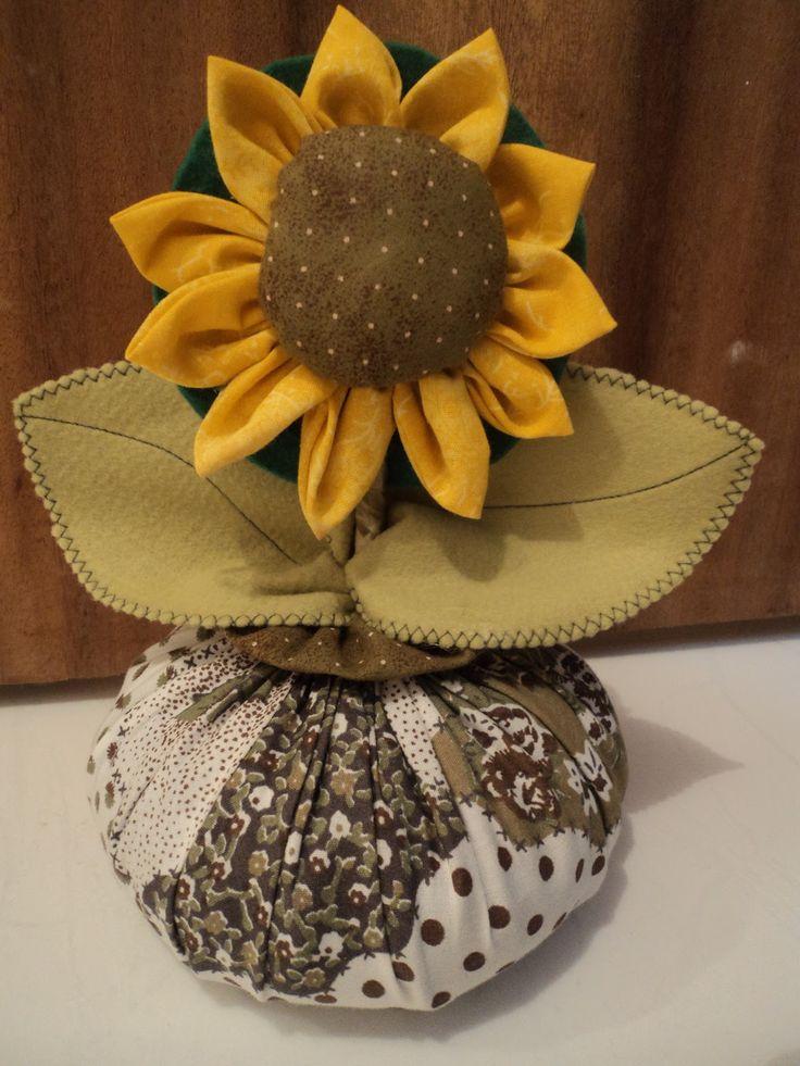 """Fare Arte con Clau: Door Weight """"Sunflower Flower"""""""