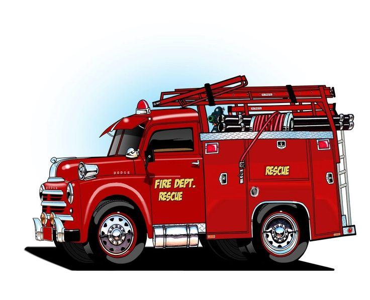 должно пожарная машина фото рисунок может