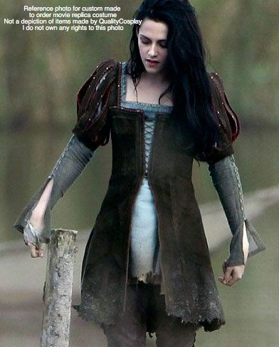 items similar to kristen stewart snow white and the huntsman costume replica renaissance faire costume womens handmade halloween costume brown suede larp - Kristen Stewart Halloween Costume