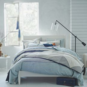 Mid-Century Bed - White #West Elm