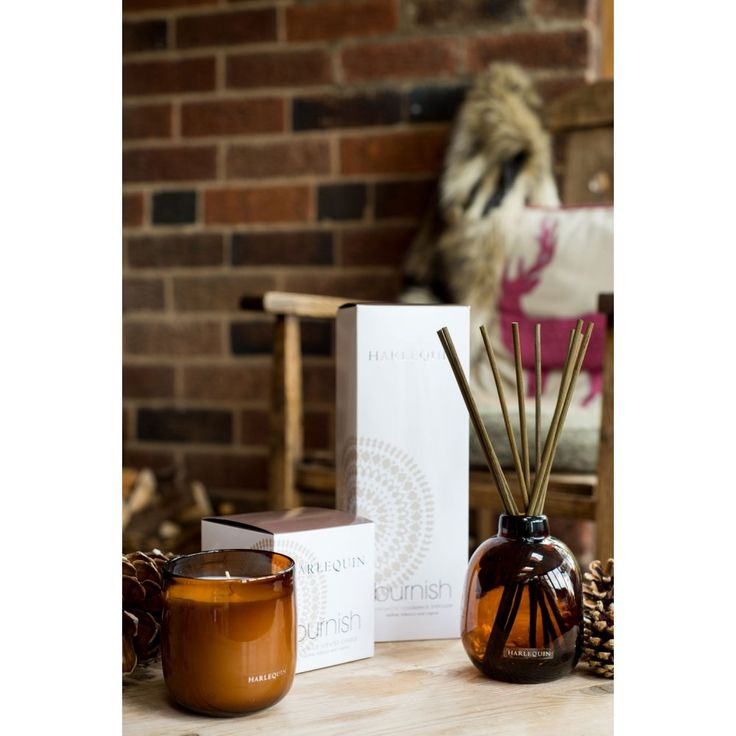 Scented candles and perfumes for the home will will add character to your interior