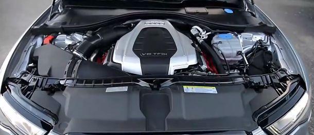 2017 Audi A6 Engine